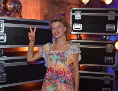 "Natia Todua im Finale von ""The Voice of Germany"""
