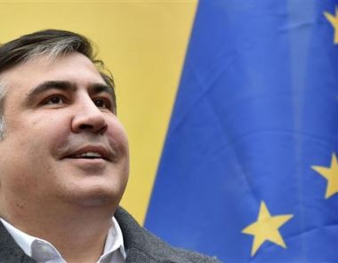 Saakashvili nun in Litauen
